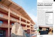 Typische Merkmale des Tiroler Stils, wie - Das Posthotel