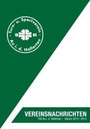 vereinsnachrichten - TSV Au id Hallertau