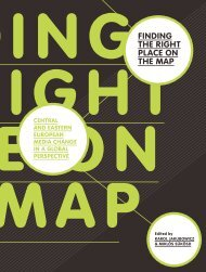 finding the right place on the map - Journalism and Media Studies ...