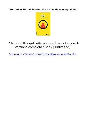 ENI-Cronache-dallinterno-unazienda-Monogrammi-ebook
