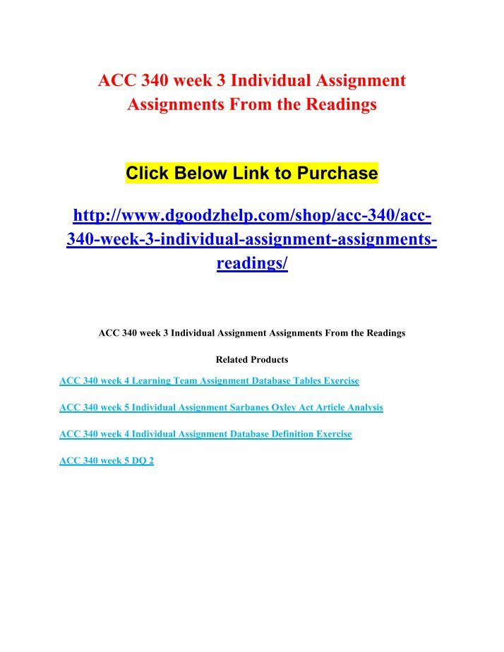 acc340 week 1 the effects of Acc 340 week 1 individual assignment the effects of technology to purchase this tutorial copy and paste below link in your browser   for any information or any cl.