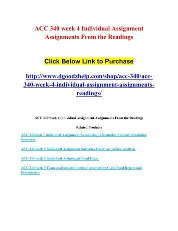 ACC 490 Auditing