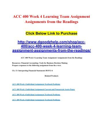 acc 349 week 5 individual Prepare written responses to the following assignments from managerial accounting: tools for business decision making: ch 8 - exercises e8-11ch 9 - brief exercises be9-6 and be9-8ch 11 - questions 2 and 11ch 11 - exercise e11-6.