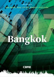 ASIA PACIFIC REAL ESTATE MARKET OUTLOOK