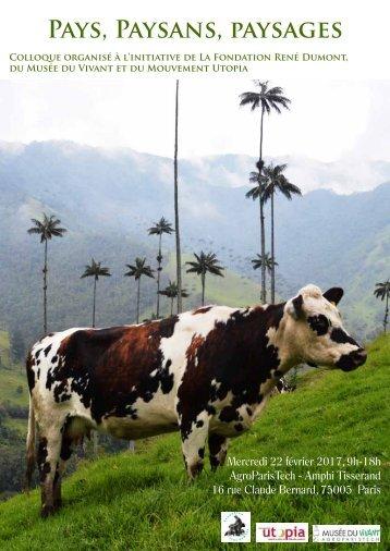 Pays Paysans paysages