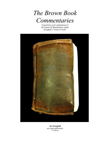 The Brown Book Commentaries
