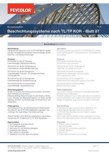 Feycolor Information zum Blatt 87