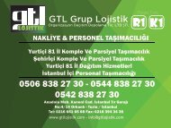GTL LOJİSTİK
