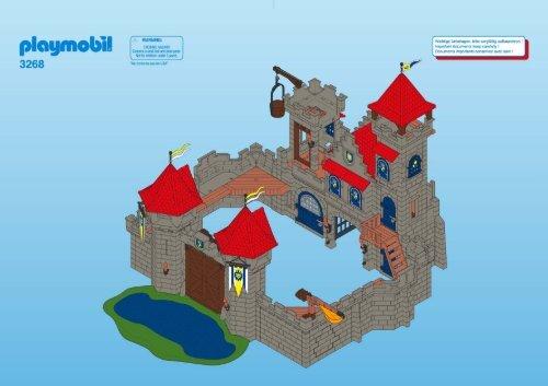 Notice chateau princesse playmobil elegant sympa notice for Notice de montage chateau princesse playmobil
