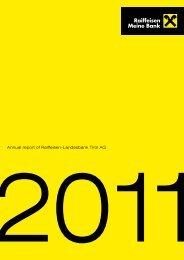 Annual report of Raiffeisen-Landesbank Tirol AG