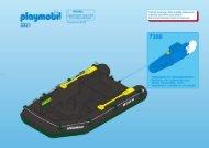 Playmobil 3321 - Notice de montage Playmobil 3321