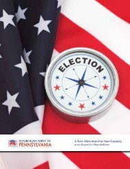 2012 Shareholder's Report - Pennsylvania Republican Party