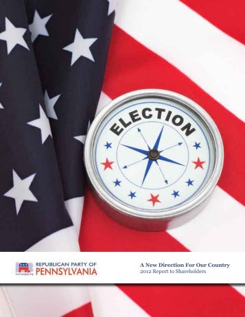 2012 Shareholder's Report - Pennsylvania Republican Party