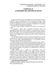 CAPÍTULO 10 LA REFORMA DEL SISTEMA DE SALUD