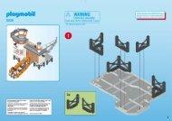 Playmobil 5539 Poste de secours des sauveteurs en mer - Poste de secours des sauveteurs en mer