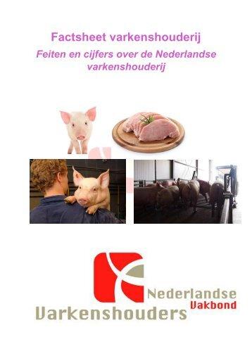 Factsheet varkenshouderij