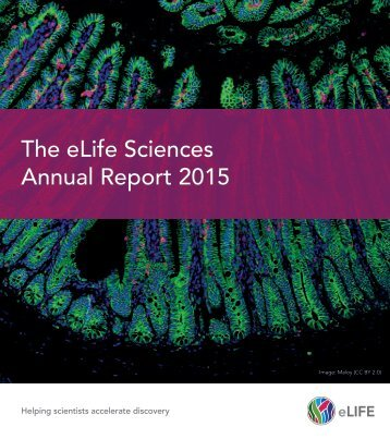 The eLife Sciences Annual Report 2015