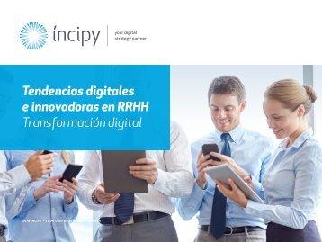 Tendencias digitales e innovadoras en RRHH Transformación digital