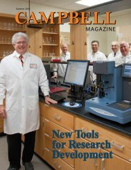 New Tools for Research Development - Campbell University