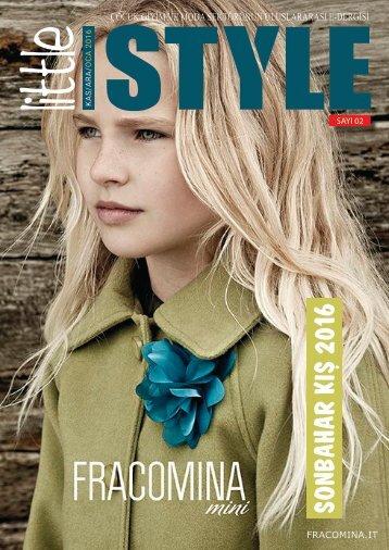 Little Style Dergisi | ÇOCUK.MODA.TREND /KASIM/ARALIK/OCAK 2017 #2