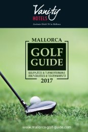 Mallorca Golf Guide 2017-Vanity Special