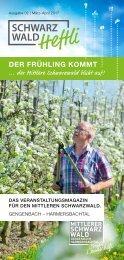 Schwarzwald-Heftli Ausgabe 2: März-April 2017