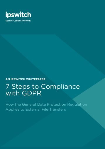 7 Steps to Compliance with GDPR