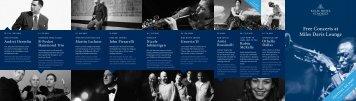 Free Concerts at Miles Davis Lounge - Festival da Jazz