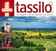 Tassilo, Ausgabe März/April 2017 - Das Magazin rund um Weilheim und die Seen