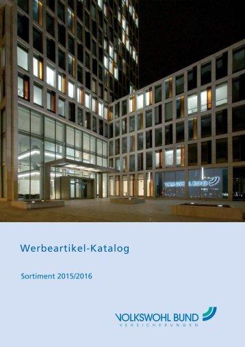 Werbemittelkatalog 2015-16 I