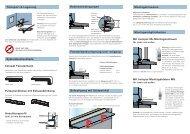 Transport & Lagerung Montagemöglichkeiten ... - Hirth