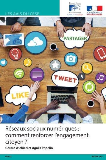 Réseaux sociaux numériques  comment renforcer l'engagement citoyen ?