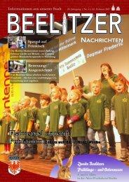 Beelitzer Nachrichten - Februar 2017 (1)