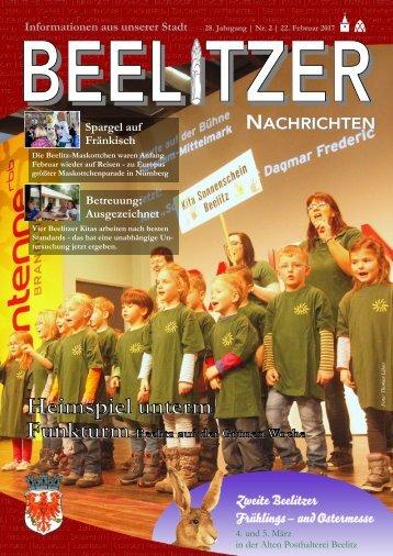Beelitzer Nachrichten - Februar 2017
