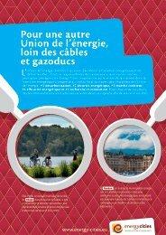 Pour une autre Union de l'énergie loin des câbles et gazoducs