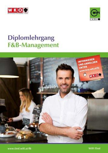 Diplomlehrgang F&B-Management Landeck LG-Profil