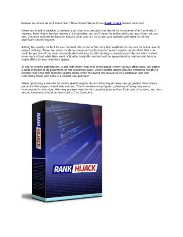 Rank Hijack Review And Bonus