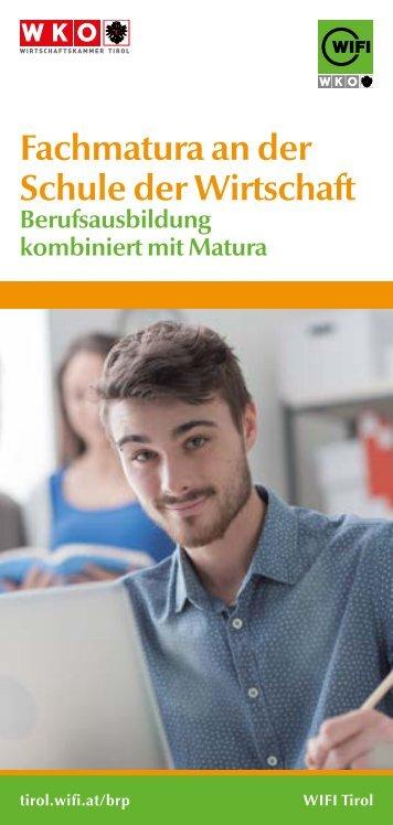 Fachmatura WIFI Tirol