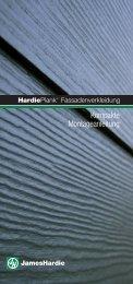 HardiePlank Fassadenverkleidung - Installationsanleitung