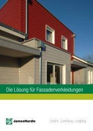 James Hardie - Die Lösung für Fassadenverkleidung