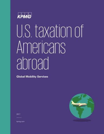U.S taxation of Americans abroad