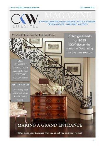 CKW Lifestyle Magazine