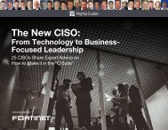 The New CISO