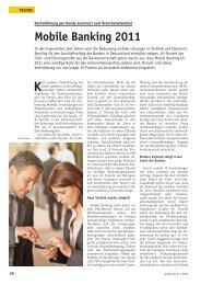 Mobile Banking 2011 - PPI AG