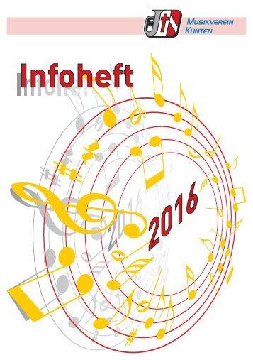 Infoheft 2016