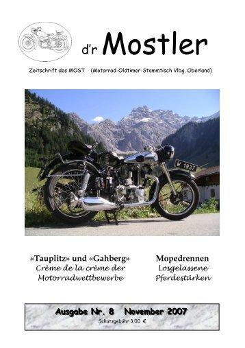 Mostler 8 2007