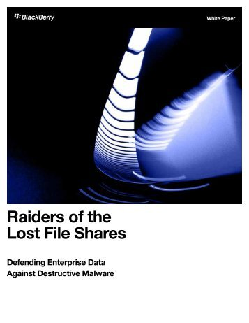 Raiders of the Lost File Shares