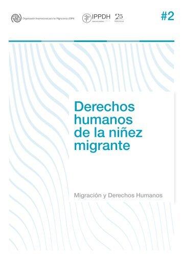 Derechos humanos de la niñez migrante