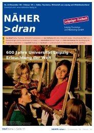 Download: NÄHER dran, Nr. 22/ Dezember 2008 - Leipzig ...