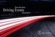 Mercedes-Benz Driving Events 2012/2013